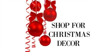 shop for Christmas decor