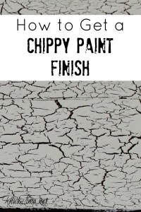 Crackled Paint Product Review: Valspar Crackle Glaze