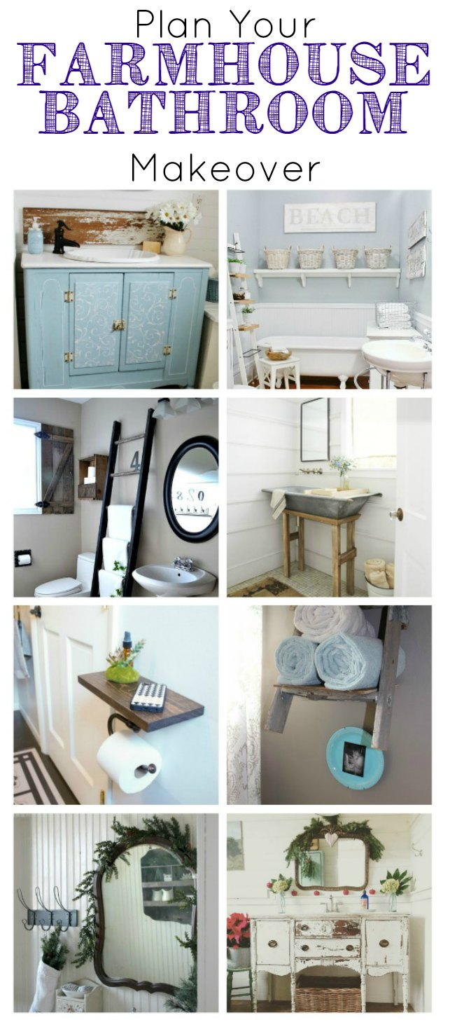 Farmhouse bathrooms design inspiration - KnickofTime.net