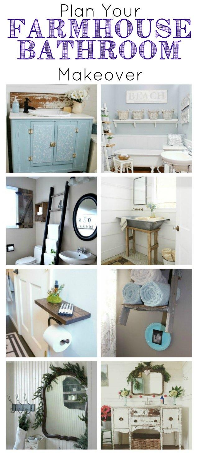 Farmhouse bathrooms design inspiration - KnickofTime.net