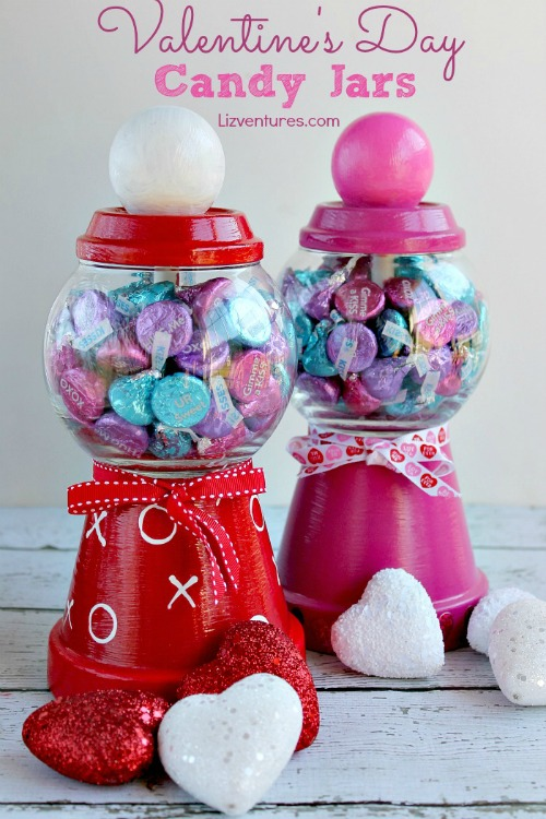 lower Pot DIY Valentine's Day Candy Jars