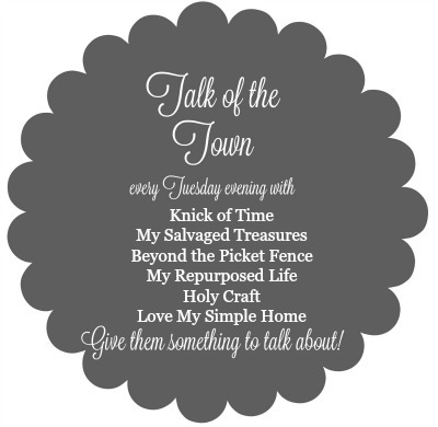 Talk of the Town link party - Knick of Time