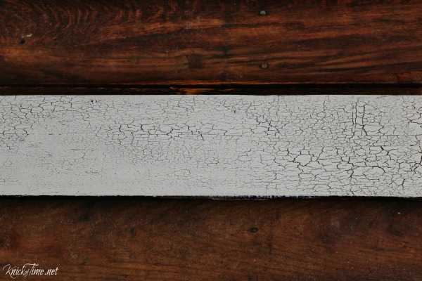 crackled paint finish