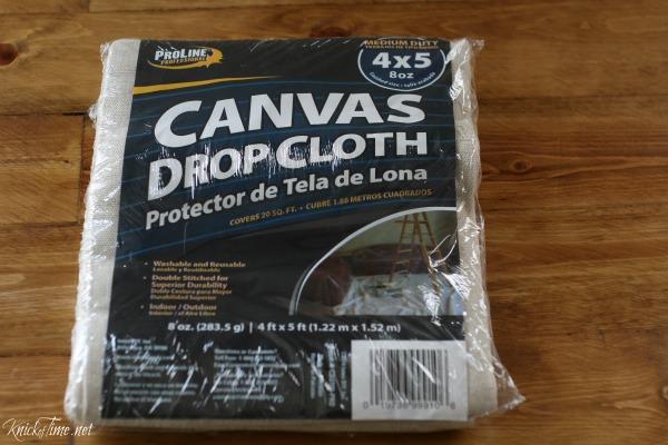 canvas painter's cloth - KnickofTime.net
