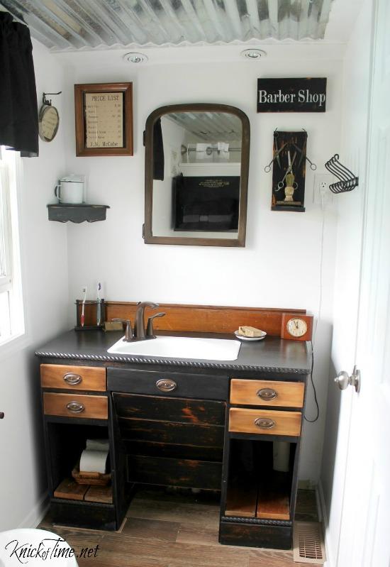 industrial bathroom remodel