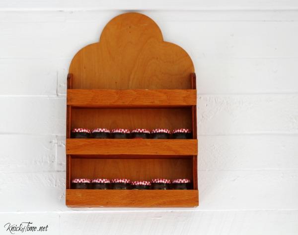 thrift store spice rack - KnickofTime.ne