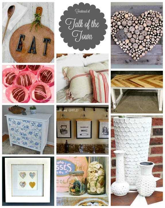 Talk of the Town features - Rustic, Repurposed, Recipes and More- www.knickoftime.net