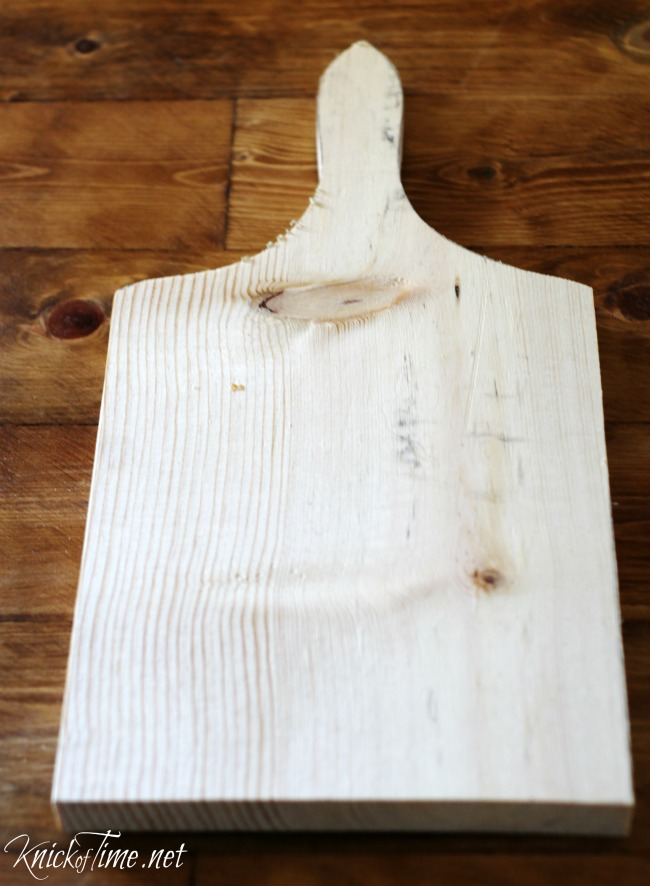How to make a bread board - KnickofTime.net