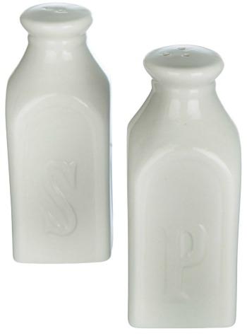 milk bottle salt and pepper shaker set