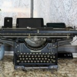 My Vintage Typewriter Gets a Brand New Job!