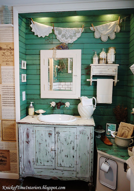 How to remodel an old farmhouse on a small budget debbiedoos for Old farmhouse bathroom ideas