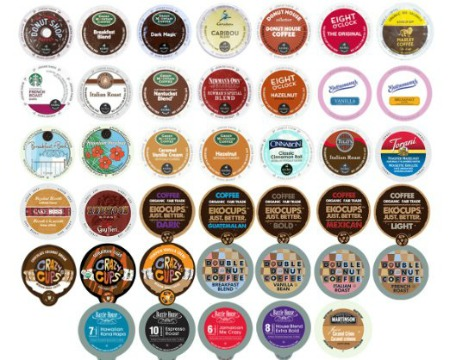K cup Kerurig coffee sampler pack from Amazon