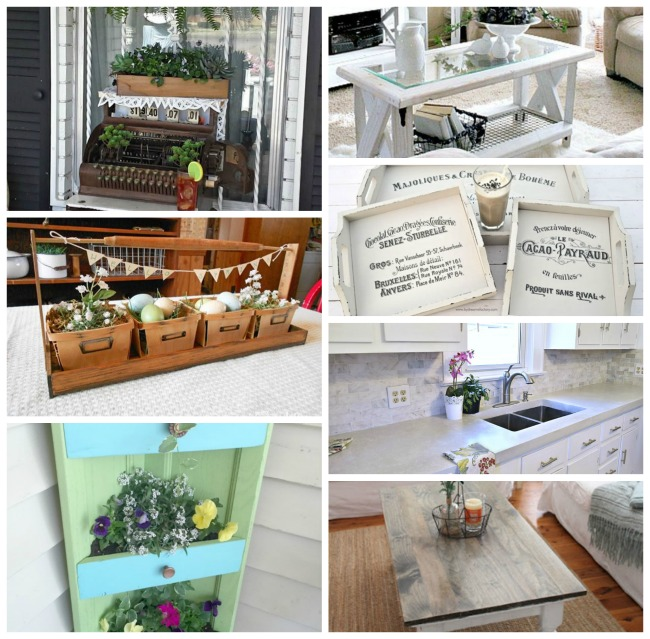 DIY Spring Projects and features - KnickofTime.net