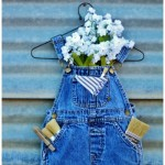 Toddler Overalls Wall Pocket