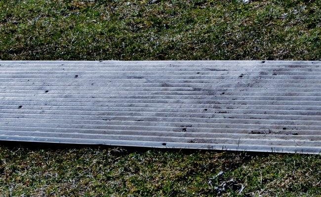 corrugated metal frame sheet metal