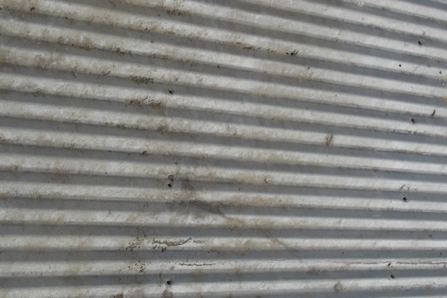 corrugated sheet metal