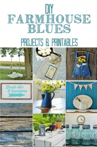 Farmhouse Blue Projects and Printable you'll love! - KnickofTime.net