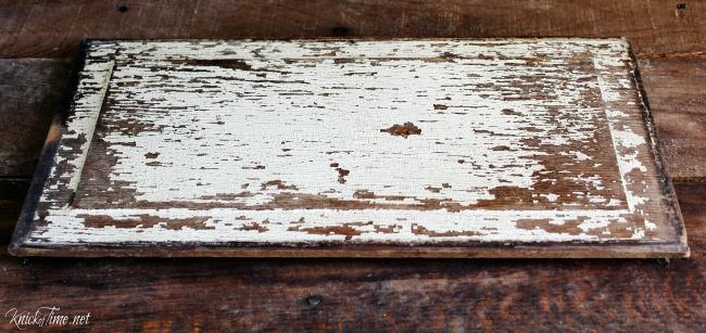 repurposed antique door panel - www.knickoftime.net