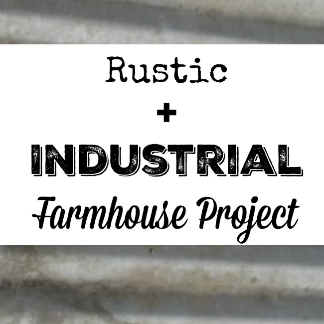 Don't get stuck on one look!  Bring together the rustic look of a log cabin with the utilitarian look of an old industrial building, and put it all together with farmhouse style! - KnickofTime.net