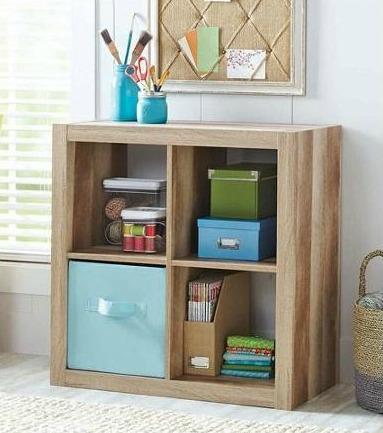 weathered wood bookshelf
