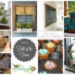 ToT #15: Mini Barn Door, Cottage Kitchen + More