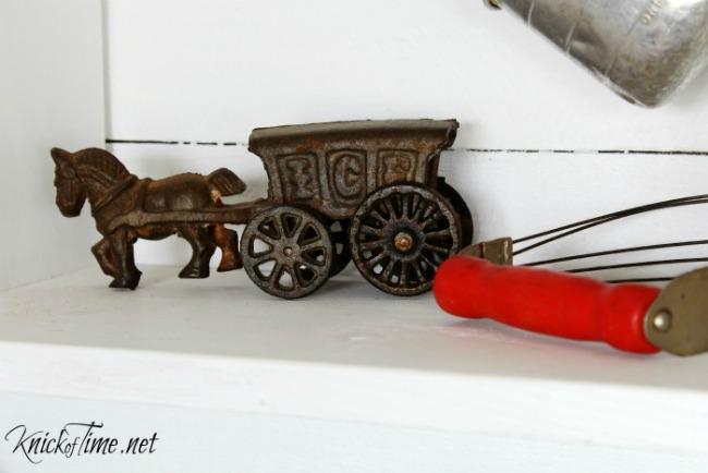 antique cast iron toy - KnickofTime.net