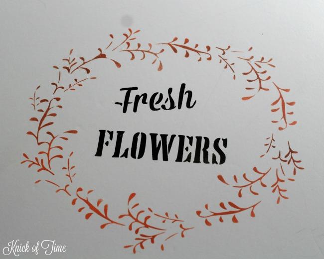 fresh flowers wreath color - KnickofTime.net