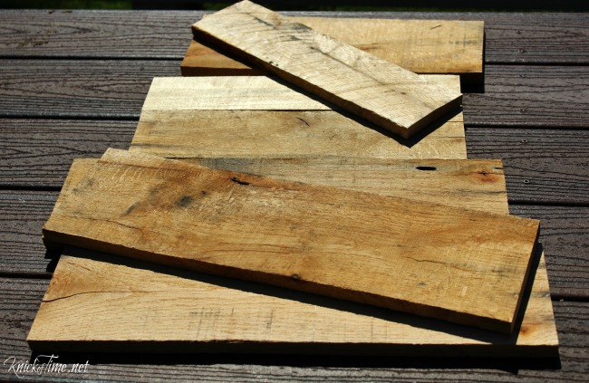 little table pallet wood - Knick of Time