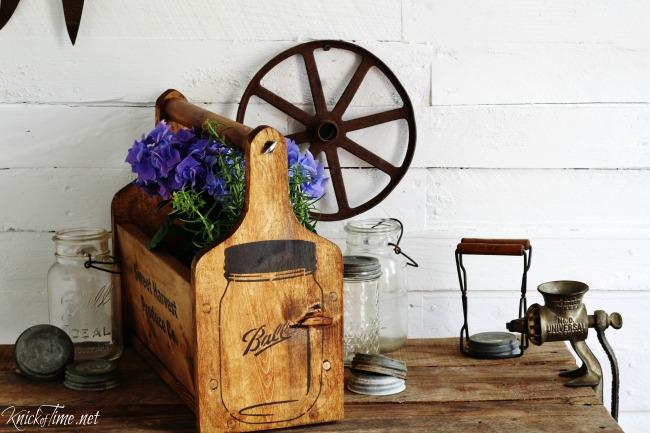 mason jar crate 2 - Knick of Time