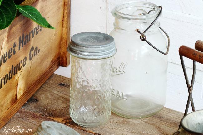 mason jar crate 4 - Knick of Time