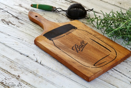 mason jar cutting board 7 - Knick of Time