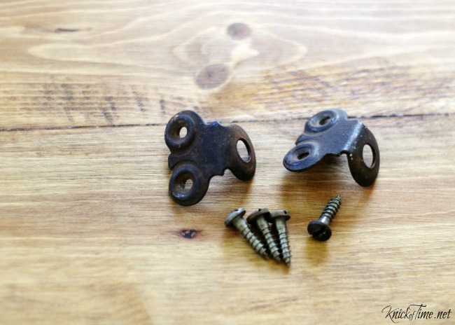 rusty parts for carrier tote