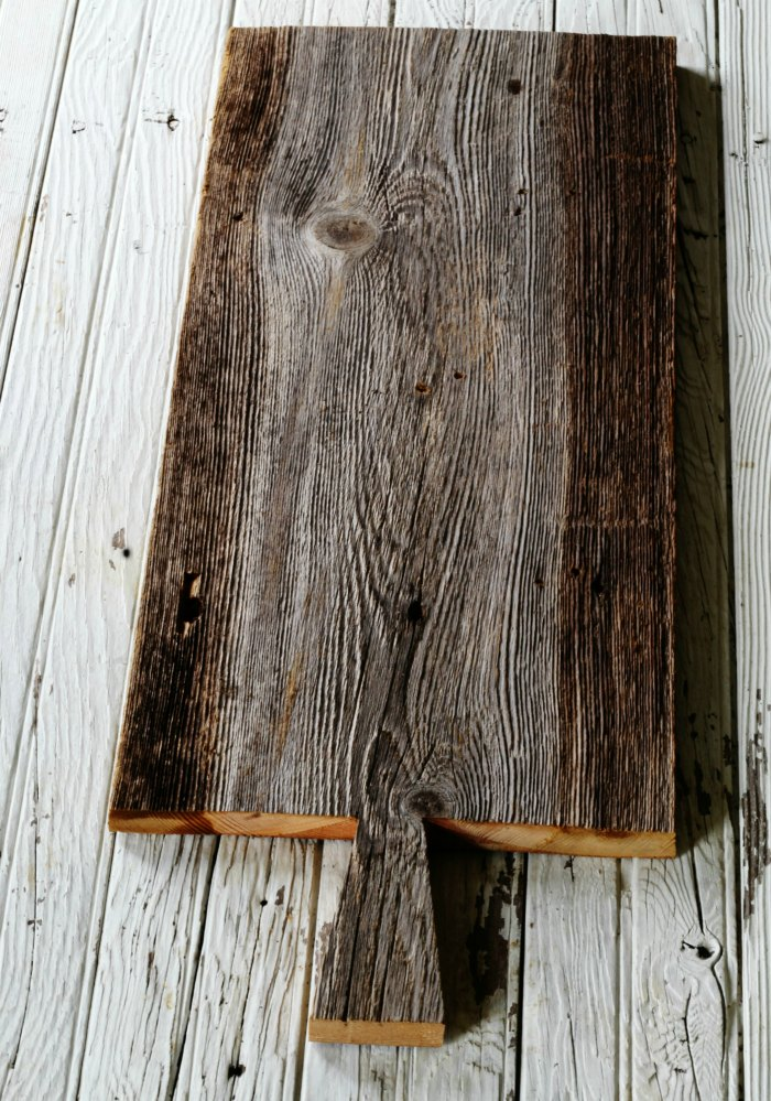handmade rustic wood farmhouse serving plank - KnickoffTime.net