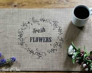 Fresh Flowers, Spring Chickens, Placemat + Pillow