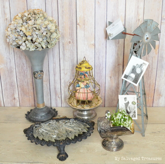 repurposed vintage treasures from My Salvaged Treasures
