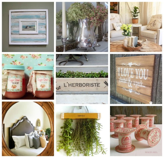 Summer inspiration projects and decor at Talk of the Town - KnickofTime.net