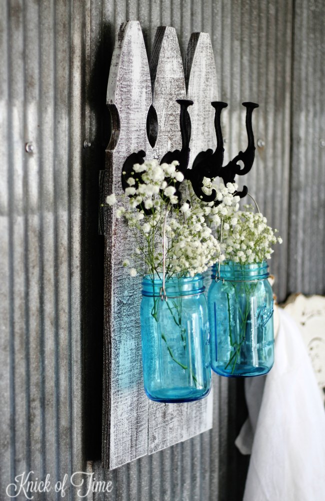 How To Make Farmhouse Picket Fence Wall Hooks Knick Of Time Amazing Picket Fence Coat Rack