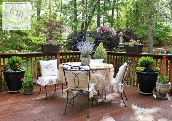 French Country Deck Garden Arbor Bench More Talk Of