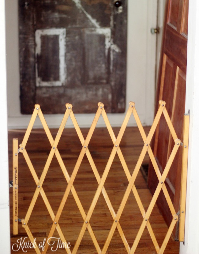 pet gate before - Knick of Time