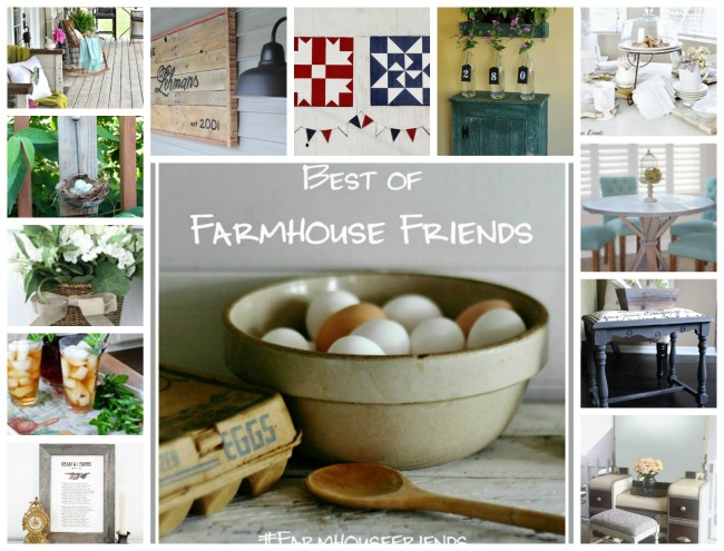 DIY farmhouse decor by the Best of Farmhouse Friends team - KnickofTime.net
