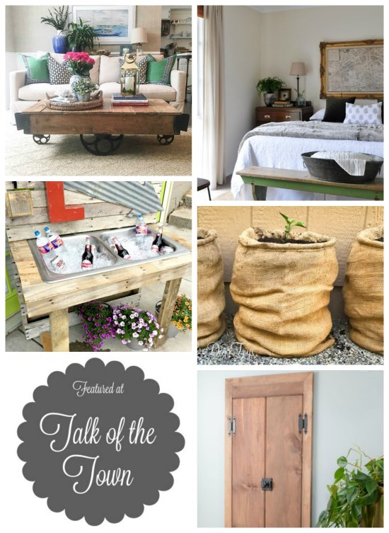 Take a breat from the heat wave withh these DIY projects featured at KnickofTime.net