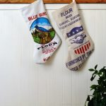 Country Living Inspired Flour Sack Stockings