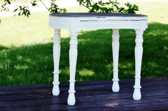 bench makeover - KnickofTime.net