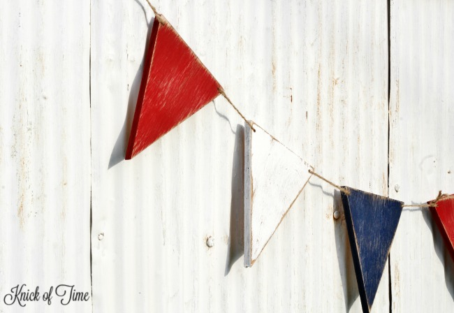 Create a patriotic rustic farmhouse banner - KnickofTime.net