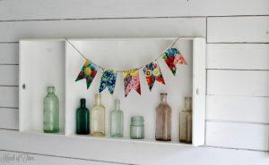 DIY Blooming Pennant Banner