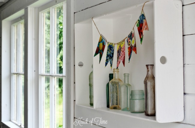DIY Flower Seed Packet Pennant Banner for Summer Decor - KnickofTime.net