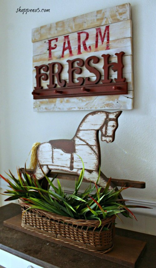 farm fresh pallet sign