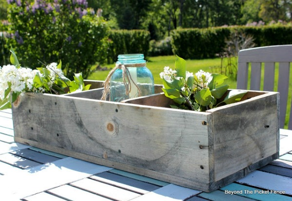 DIY Pallet Wood Rustic Crate