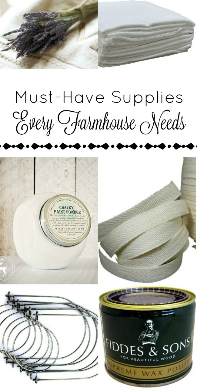 Shop for supplies and products to give your home farmhouse style! - www.knickoftime.net