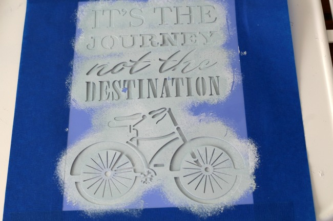 stenciling on metal